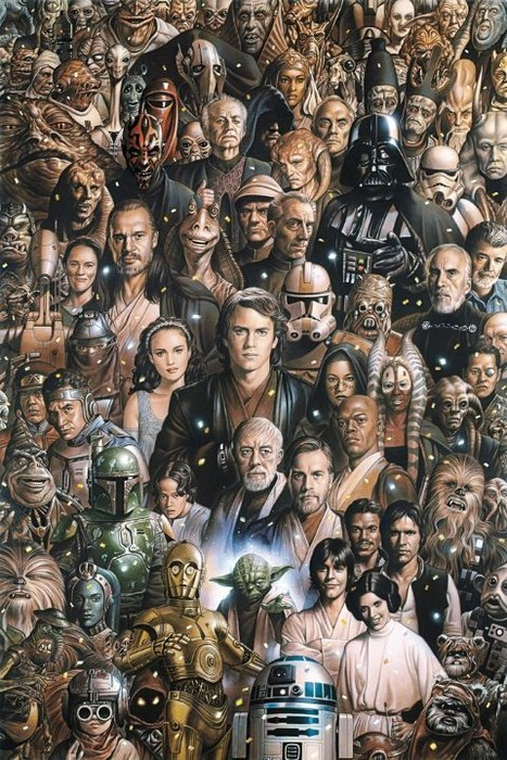 Image result for personajes de star wars