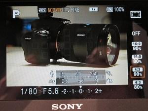 Sony CLM-V55 HDMI DSLR 5-inch Monitor