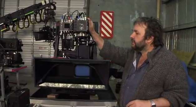 Peter Jackson with rig