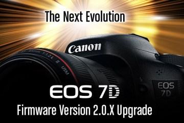 Canon 7D Firmware
