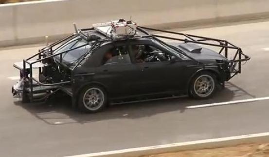 Fast and Furious 6 Camera Car VIII