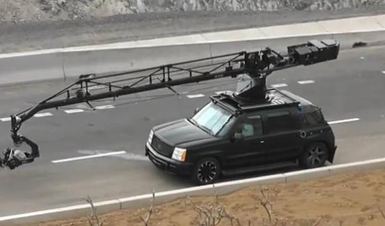 Fast and Furious 6 Camera Car