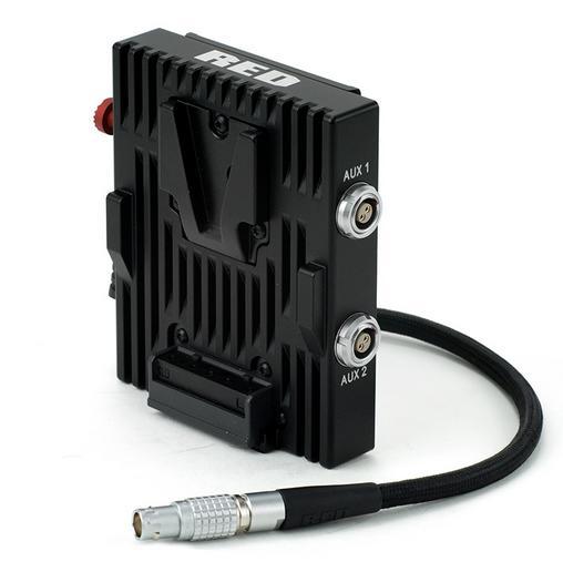 RED Shorter Quickplate V-Lock Battery adapter