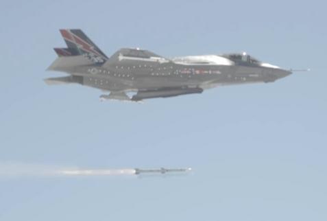 First F-35 AMRAAM Missile Test