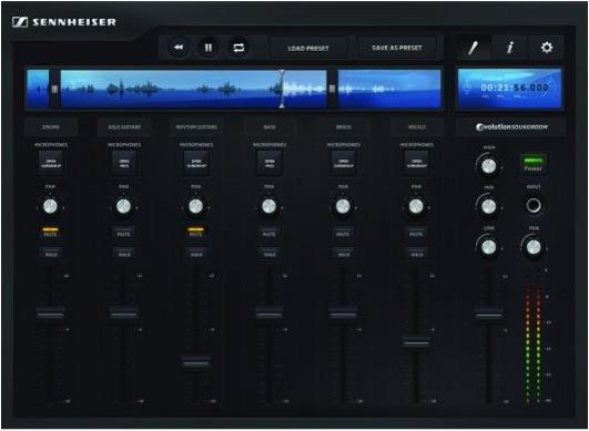 evolution soundroom app