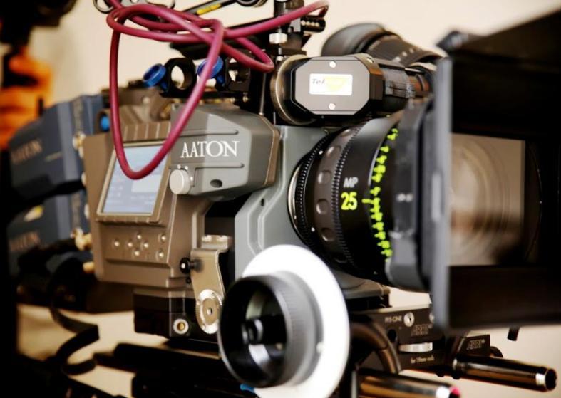 Beautiful Gorgeous Aaton Penelope Delta Camera Footage
