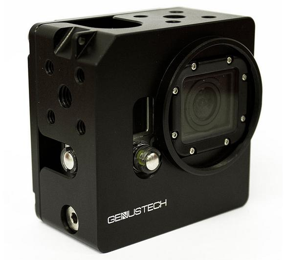 Genus Gopro cage in black