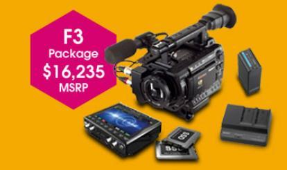 Sony PMW-F3G444 Camera