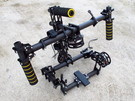 maxicopter muvistar brushless gimbal camera rig