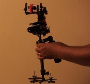 Flycam Nano Meets Brushless Gimbal and GoPro Camera