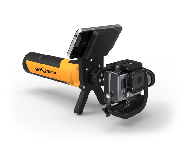 Gyromatic go2x GoPro camera Rig