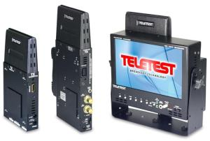 Teletest portable LCD with internal HD receiver