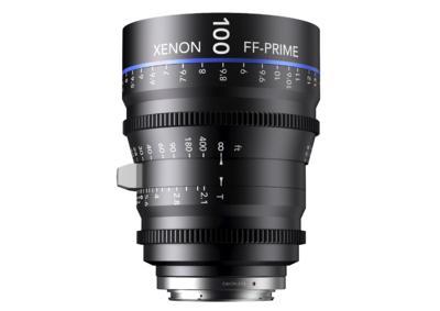 Xenon full-frame 100mm prime Lens
