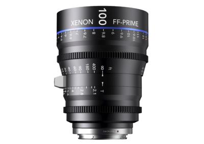 Xenon full-frame 100mm prime Lens