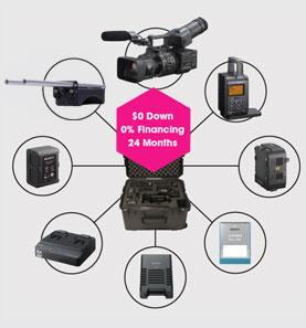 Sony NEXFS700 RAW Package