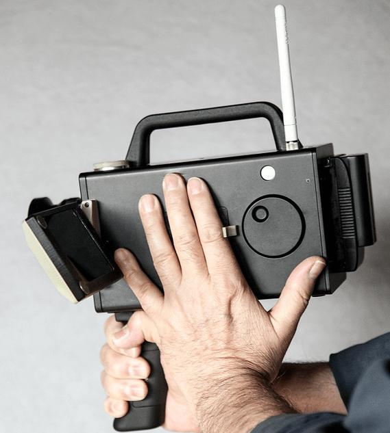 Logmar Super 8 Camera