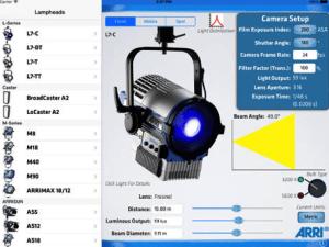 The ARRI Photometric App 1