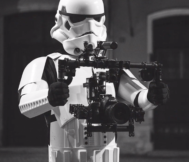 Imperial Stormtrooper Segway Brushless Gimbal