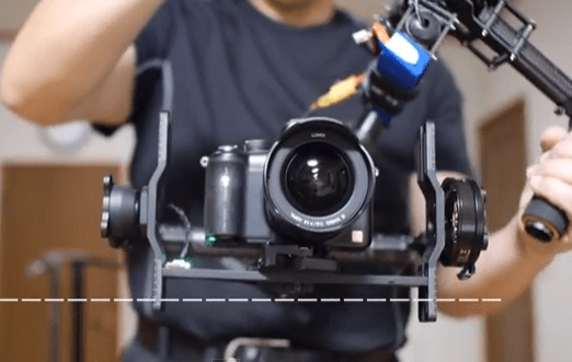 Brushless Gimbal Handheld Setting