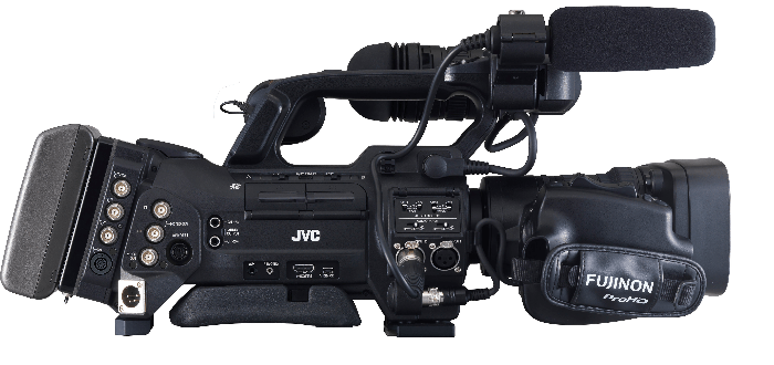JVC GY-HM890U Right Side