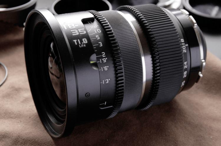 Allstar 18-35mm T1.8 PL Lite Lens