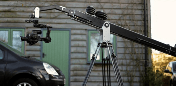 Motion Picture Hire Crane With Brushless Gimbal