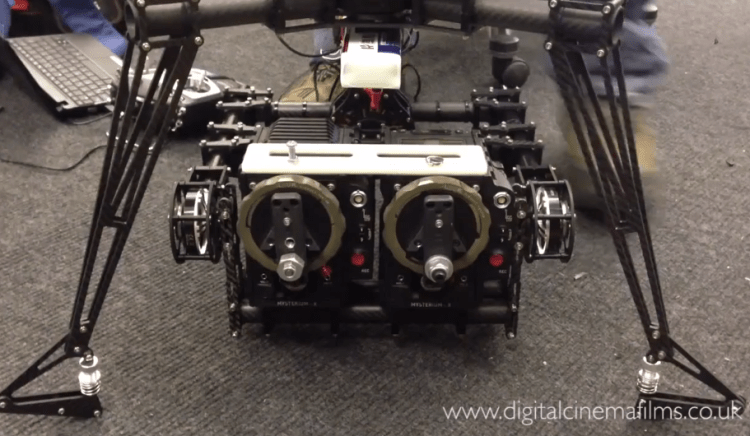 Red Epic 3D Brushless Gimbal