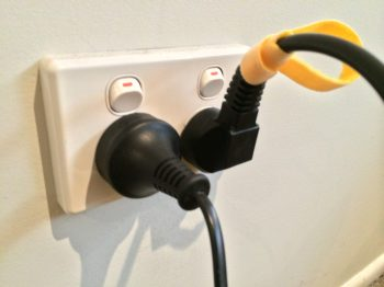 Came-tv mains plug