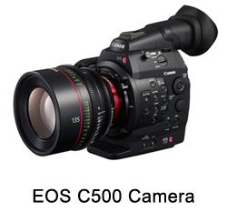 Canon EOS C500 RAW Upgrade