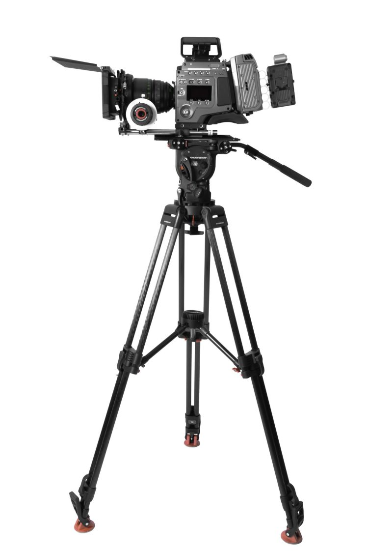 Cconnor 60L Tripod with 2575D and Sony F65