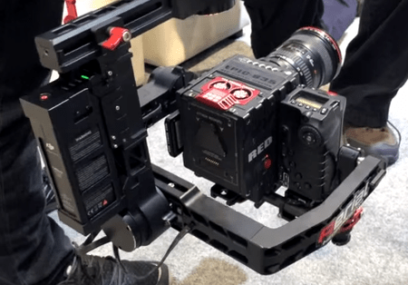 DJI Ronin with RED Carbon Dragon NAB 2014