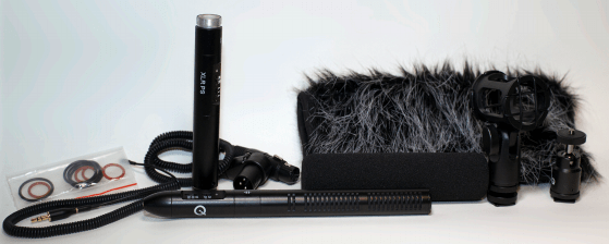 Que Audio 210 Hybrid Sniper Mic Kit