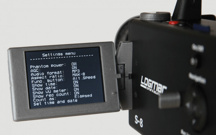 Logmar S-8 Camera