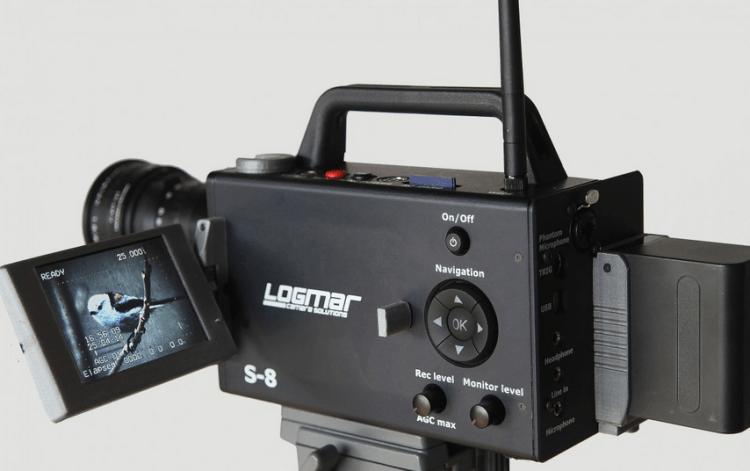 Logmar Super-8 Camera