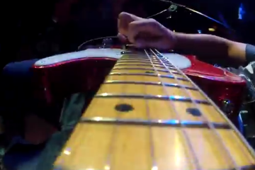 Brad Paisley takes my GoPro and plays a slide guitar solo with it