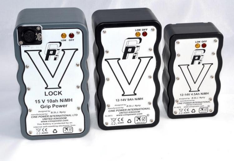 Safe to fly V mount batteries