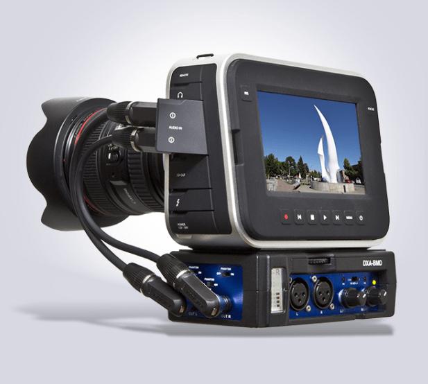 Beachtek Blackmagic cameras audio