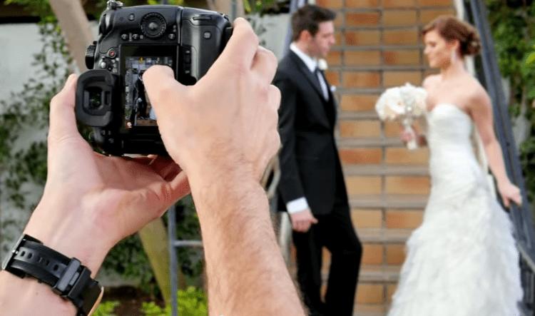 LUMIX GH4 wedding photo shoot