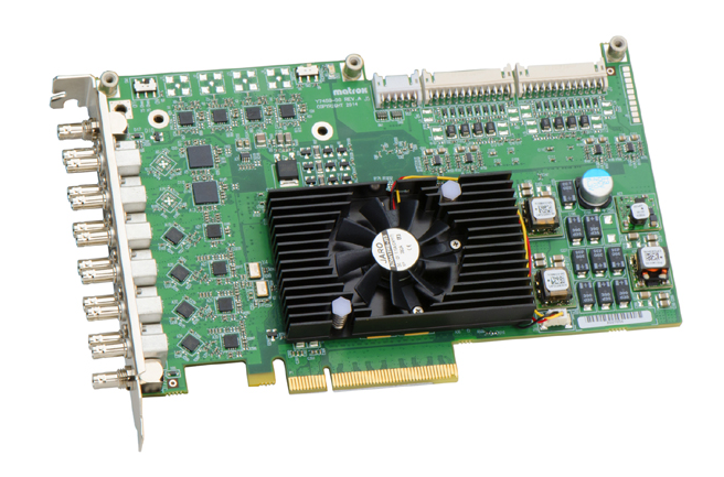 Matrox SDI Cards with 12 Reconfigurable Inputs Outputs