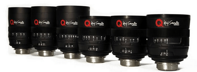 UniQoptics Cinema Lenses