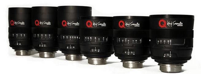 UniQoptics Cinema Lenses
