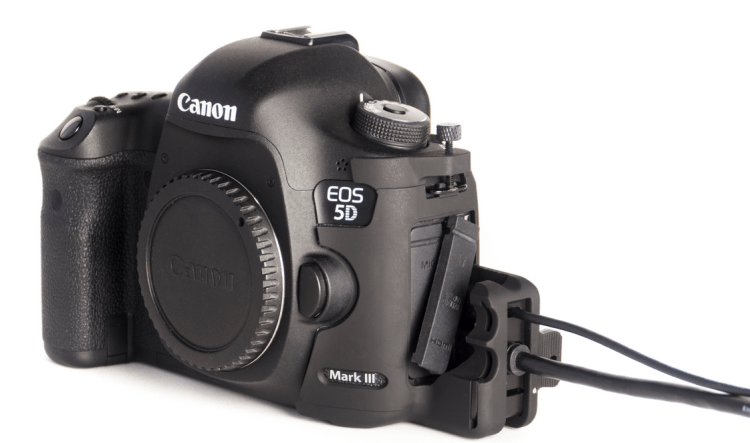 SmallHD HDMI:USB Port Lock Protectors for Canon 5D Mark III:II Cameras