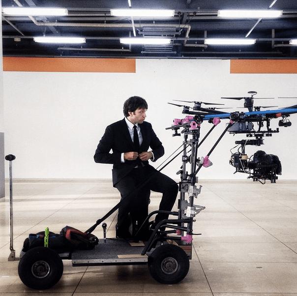 custom multicopter Honda OK GO