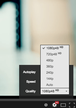 Cameras Come To Life With The YouTube 1080p48 Setting