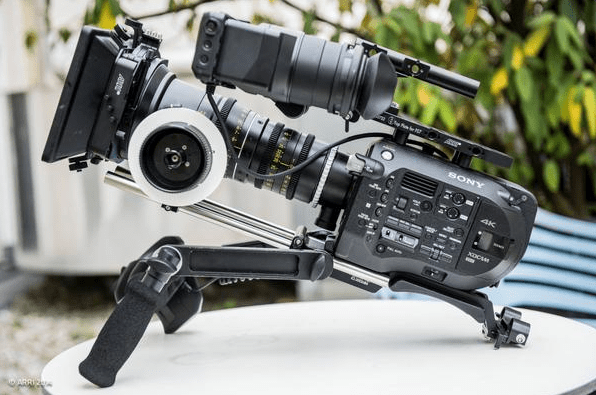 ARRI PCA accessories for sonyfs7