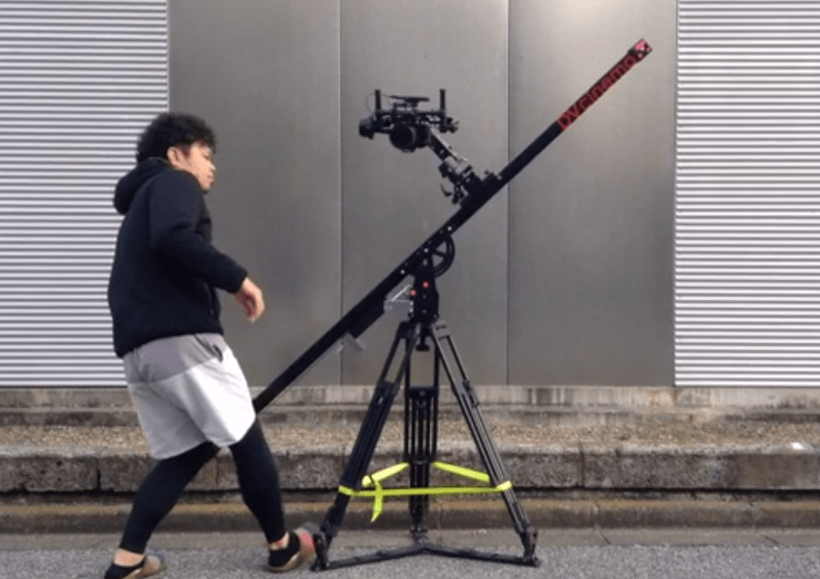 DJI RONIN on a Floatcam Slider