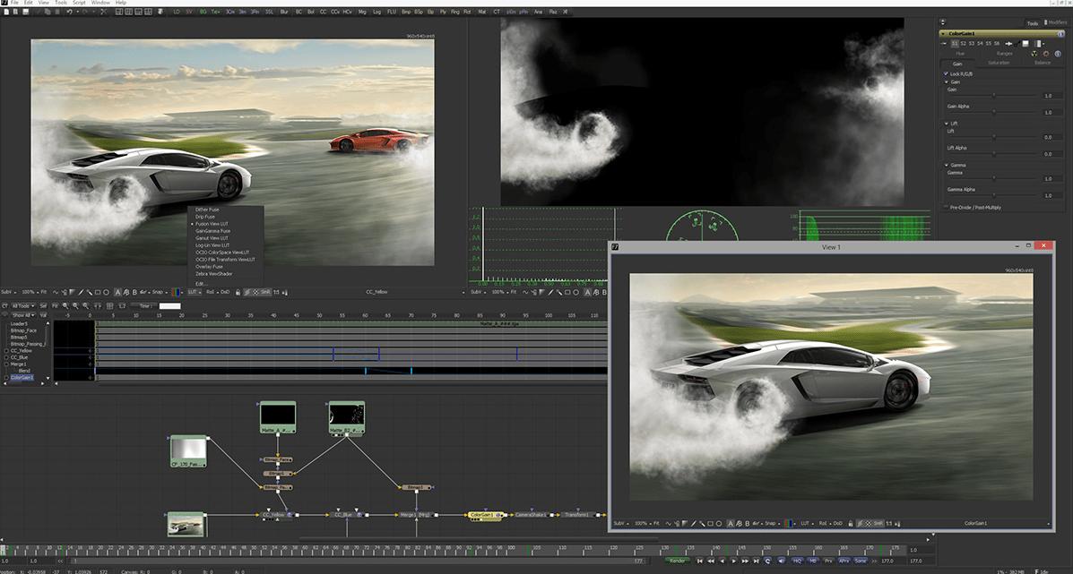 Fusion 7    Blackmagic Design's Pro Visual Effects & Motion