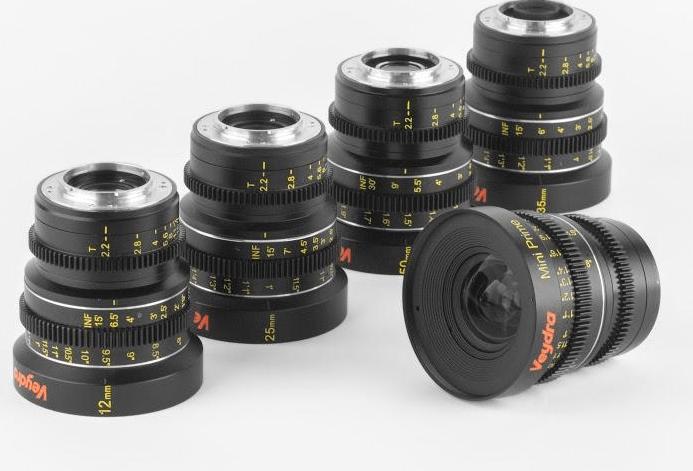 Veydra Mini Primes Micro 4:3 Prime Lenses