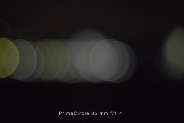 PrimeCircle Bokeh