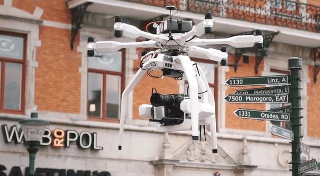 Black Armored Drone